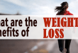 What are the benefits of weight loss?