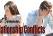 Most Common Relationship Conflicts