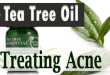Use Tea Tree Oil for treating Acne