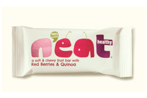 N'eat Healthy Red Berries & Quinoa Fruit Bar