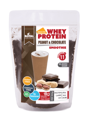 Royal Nutrition Whey Peanut Chocolate 1Kg