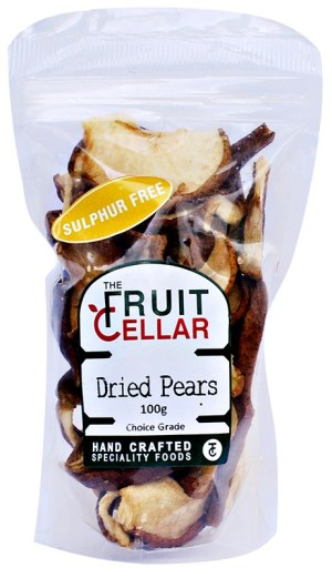 The Fruit Cellar Sulphur Free Dried Pears