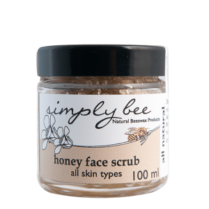 Simply Bee Honey Face Scrub
