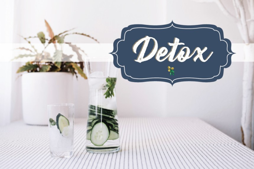 LET'S TALK ABOUT DETOX + DETOX WATER RECIPE // DETOX TIPS