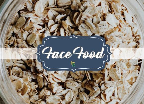 Face Food: Oats