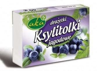 Ksylitolki Blueberries candies 40g