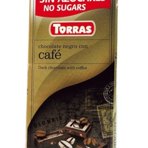 Sugar Free Dark Chocolate with Coffee Beans(75g)