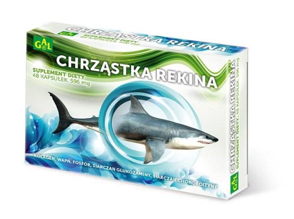 Shark Cartilage 48 capsules, 596mg