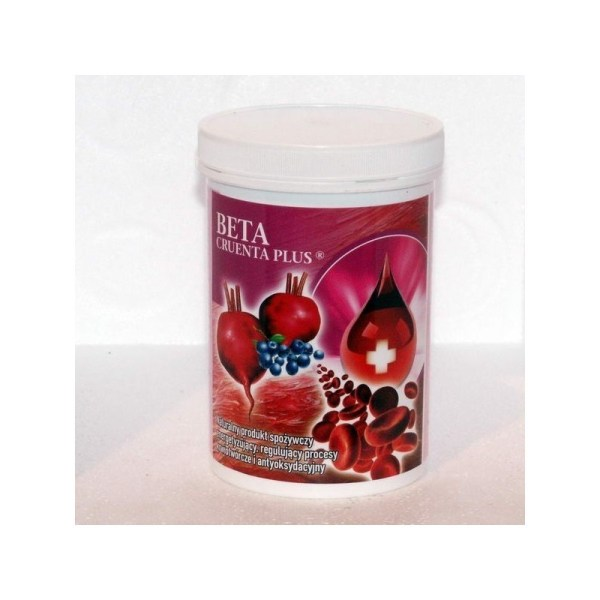 Beta Cruenta PLUS, for people suffering from anemia, after chemotherapy