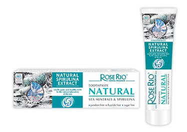 Toothpaste Rose Rio Natural with spirulina extract 65ml