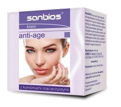 Cream With Snail Slime For Each Skin Type, Brightening, Nourishing 50ml Sanbios