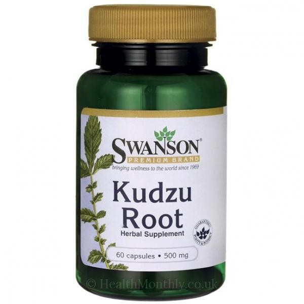 Kudzu Root 500mg for titrdness, helps with addictions, menopausa 60 caps