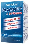 Magnesium with potassium 60 tabs stress, tiredness, for activ people