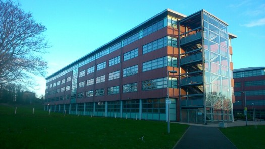 Mid Kent College building, swabbed by The Microverse participants
