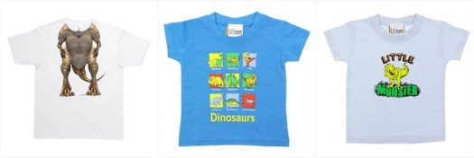 Baby T-shirts for your tiny terror.