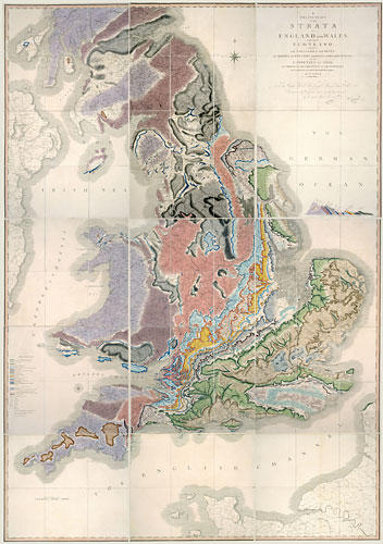 200 years old in 2015, the William Smith map changed the face of geology