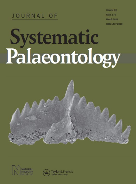 Journal of Systematic Palaeontology cover