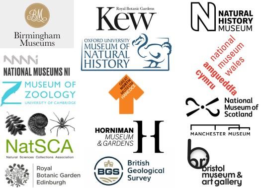 15 logos belonging to the partner organisations