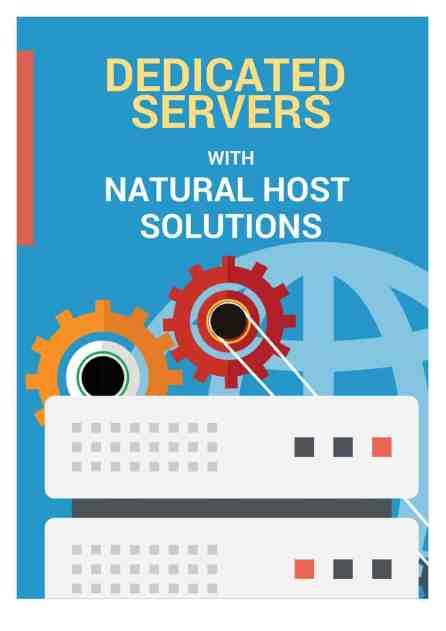 dedicated server brochure image