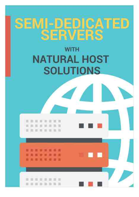 semi dedicated server catalog image