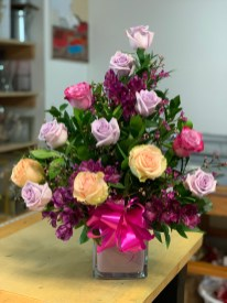 6)Tree Style pale rose colors $85.00olors