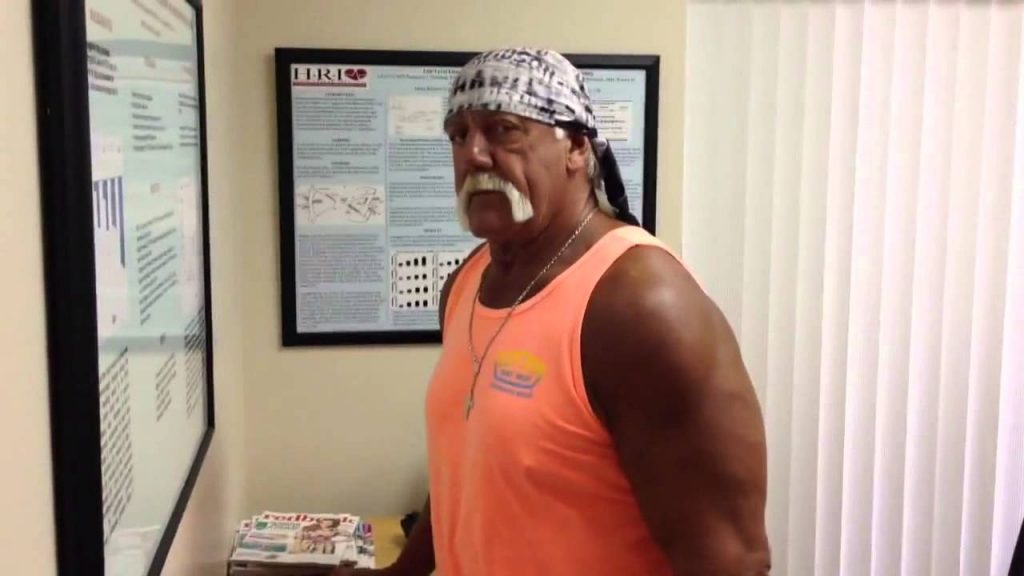 Hulk Hogan uses the Magnesphere 10
