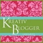 Kreativ Blogger? Who…Me??