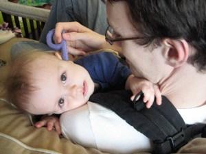 Ergo - Daniel, 10 months Photo Credit: Amy Rhime