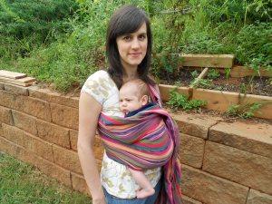 Maya Wrap - Jude, 1 month old