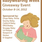 Happy International Babywearing Week!