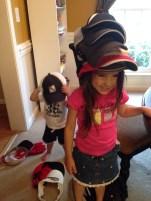 "Re-enacting ""Caps for Sale"" during homeschool"