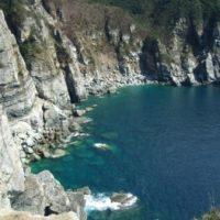 崖と大西洋の写真