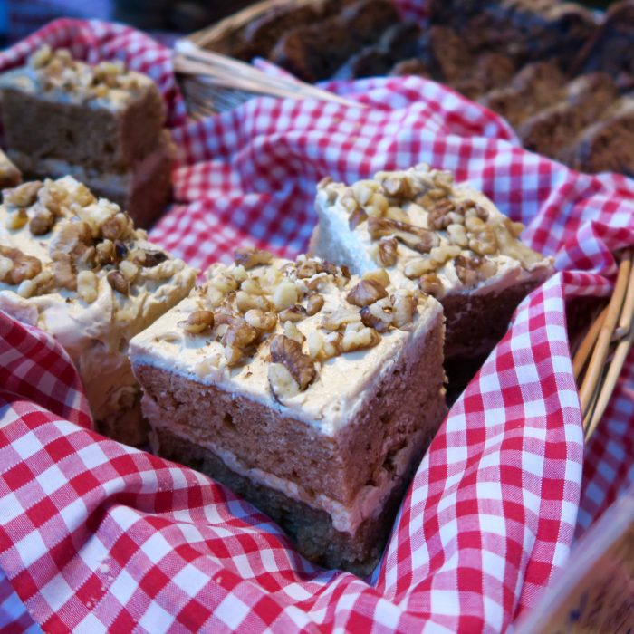 Coffee & Walnut cake from Naturally Bread