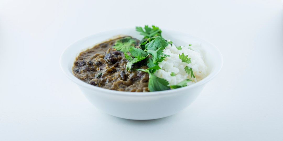 long black bean soup