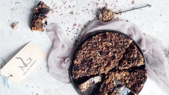 Semolina Granola tart