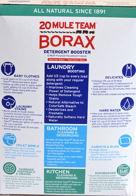 Borax has Many Uses, But Is Borax Safe?
