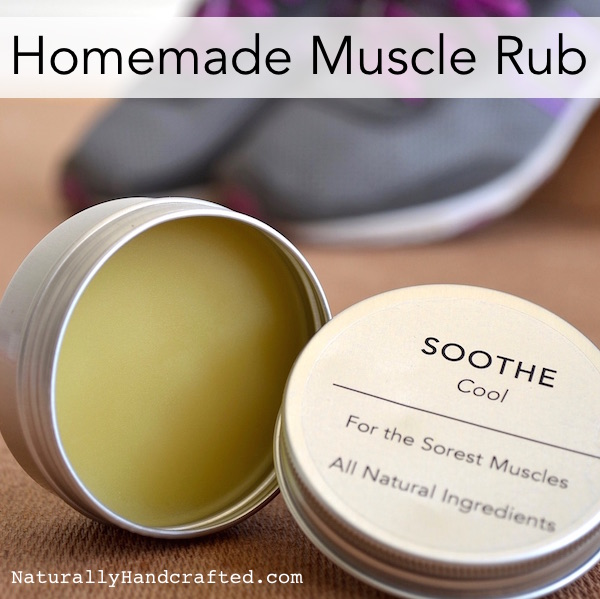 homemade muscle rub