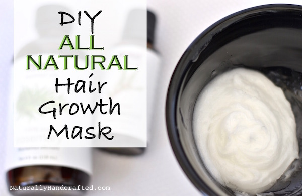 Diy Hair Growth Mask With Coconut Oil Naturally Handcrafted