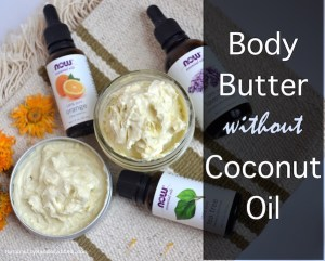 Homemade Body Butter without Coconut Oil with Essential Oil