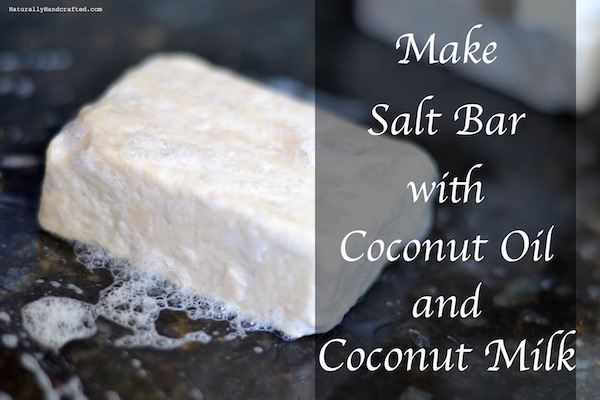 hot process salt bar soap