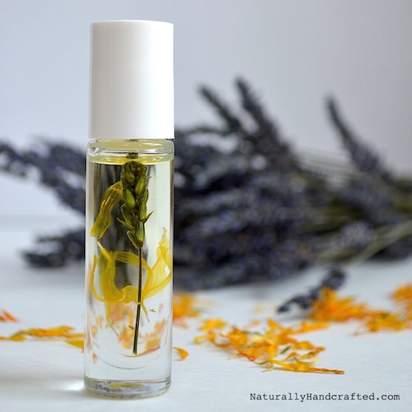 calming lavender body oil