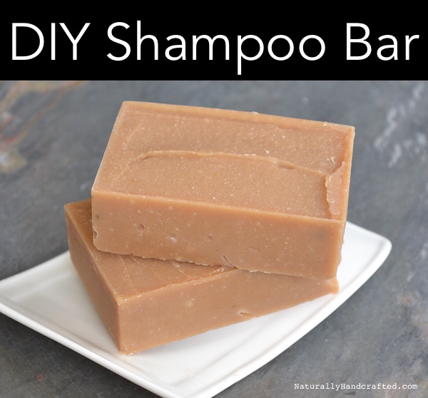 DIY Shampoo Bar 2 Bars