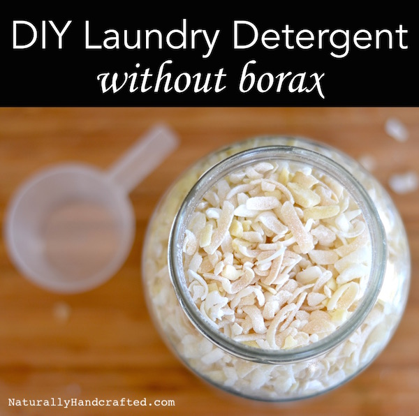 DIY homemade laundry detergent without borax