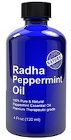 radha peppermint essential oil for headaches
