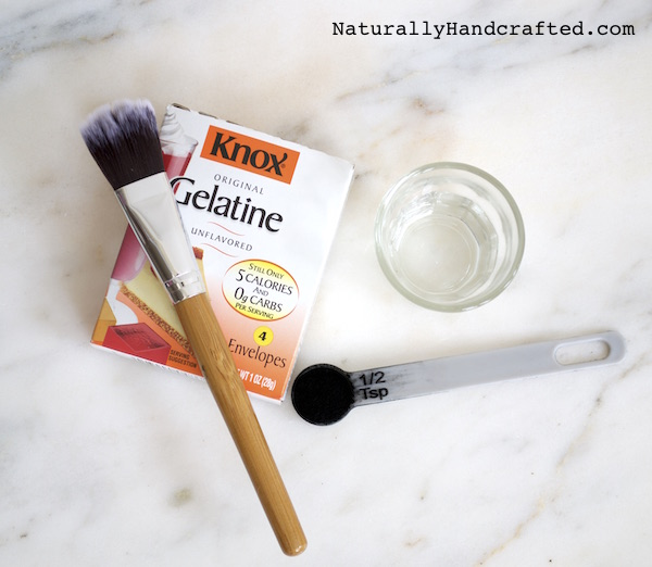 Ingredients for Charcoal Blackhead Mask