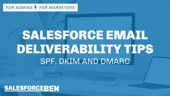 Email Deliverability Tips banner from SalesforceBen
