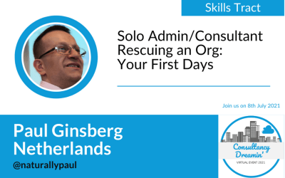 Freelance Admin/Consultant – Rescuing an Org (Your First Days)