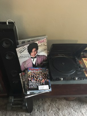 Home setup ft. Prince's 'Controversy'