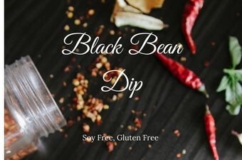 Fabulous Black Bean Dip (soy free, gluten free, vegetarian)