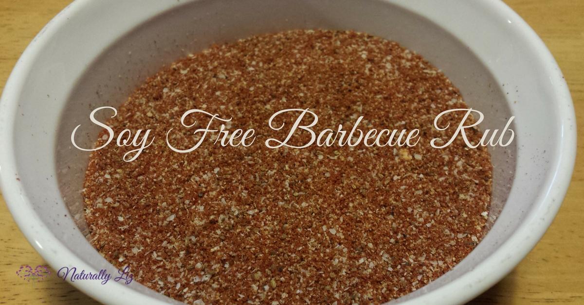 Soy Free Barbecue Rub